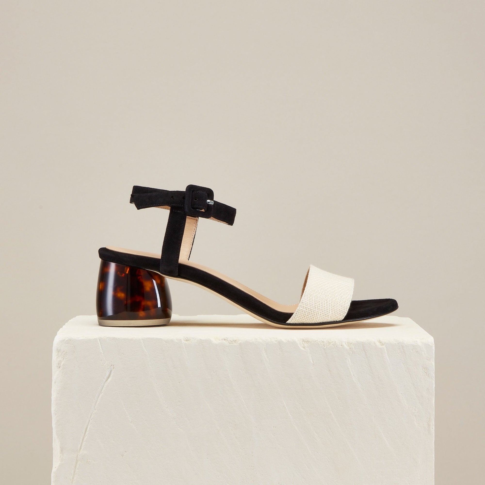 1de4fcadf7 Dear Frances | Women's Shoes | Luna Sandals, Linen