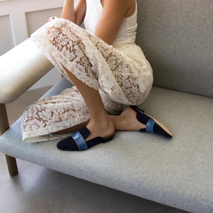 LOUNGE LOAFER, NAVY