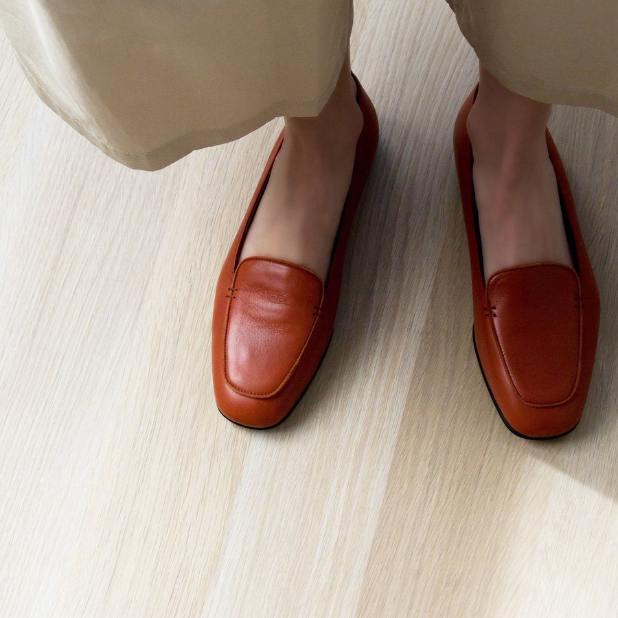 CRUISE LOAFER, BRICK