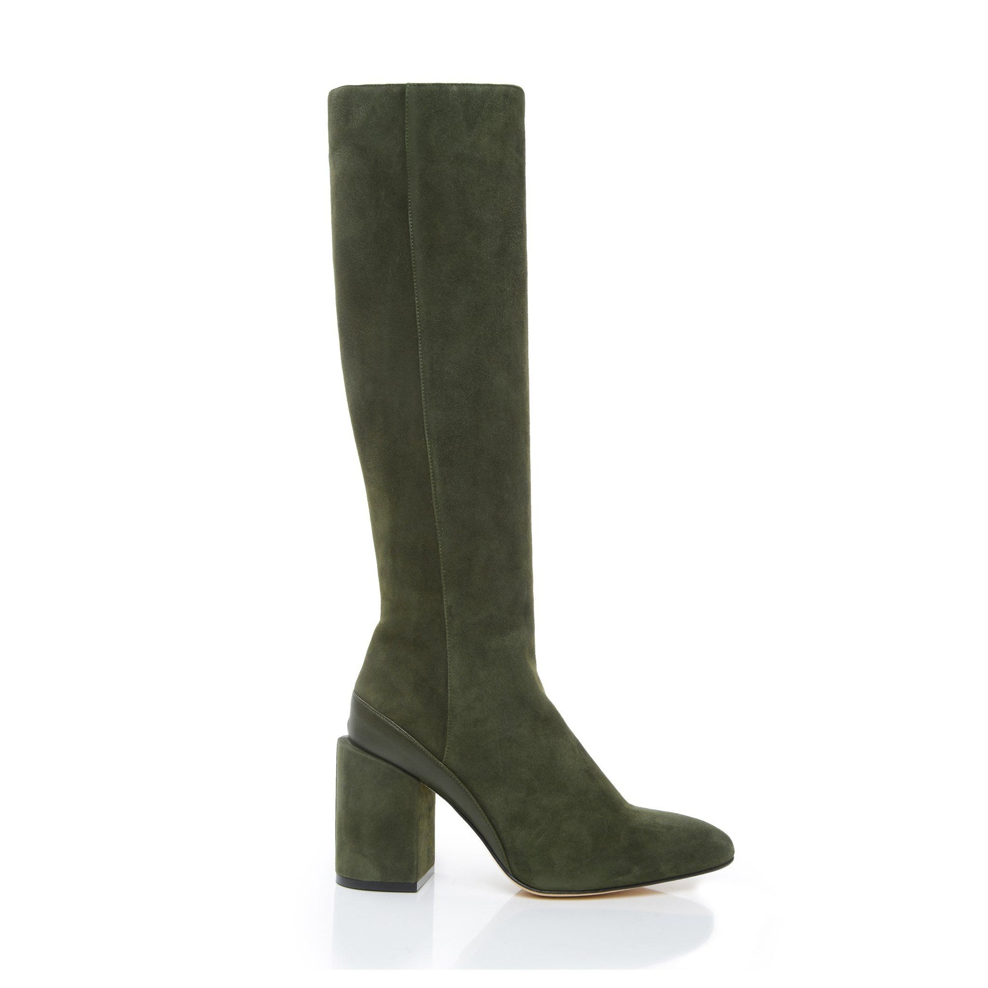 b407d77a0075 Womens Suede knee-high boots
