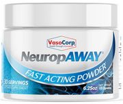 NeuropAWAY Nerve Support Formula OTC fast acting powder for tingling in hands and feet, neuropathy, nerve damage.