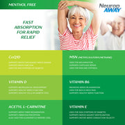 NeuropAWAY® Topical Spray Menthol Free