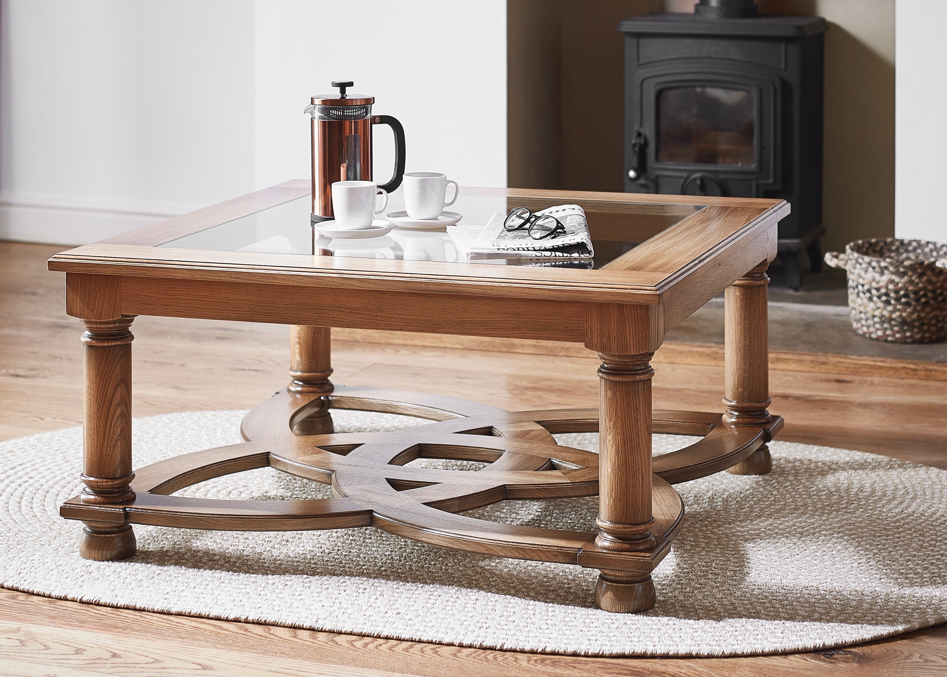 Celtic Knot Occasional Table