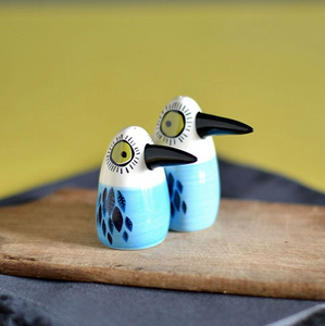 Blue Bird Salt and Pepper Set