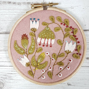 Felt Folk Garden Applique Kit