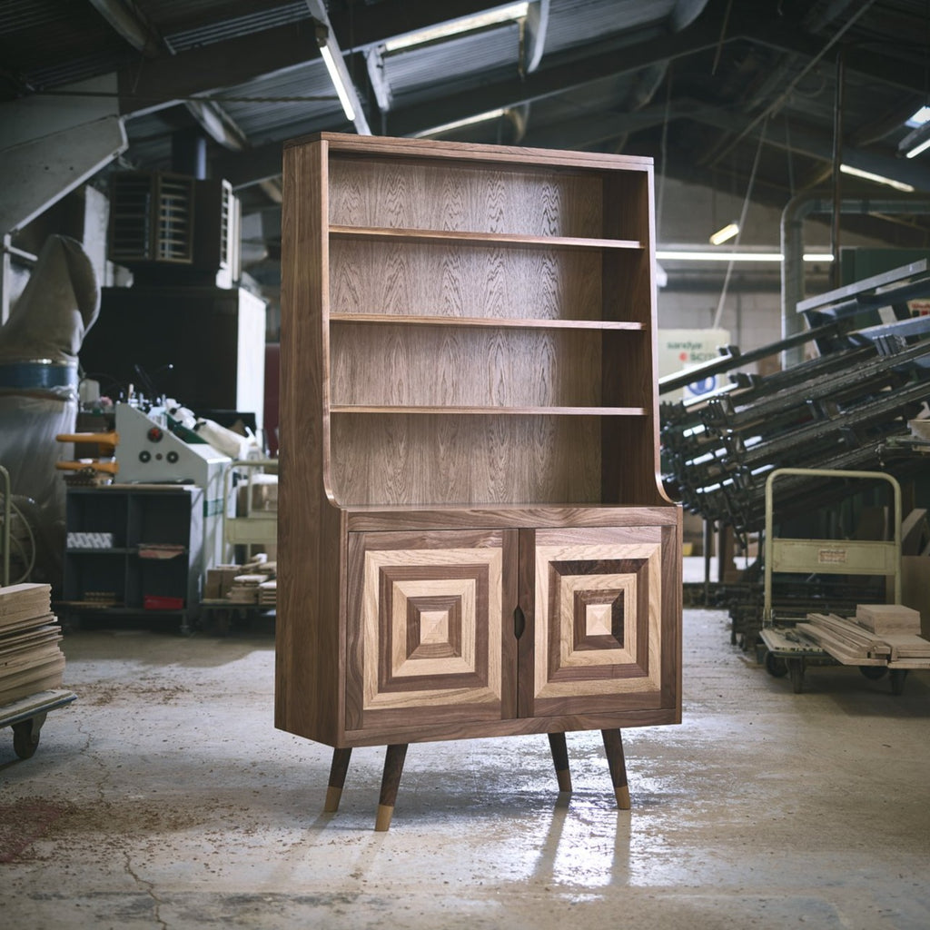 Dazzle Bookcase with Cupboard