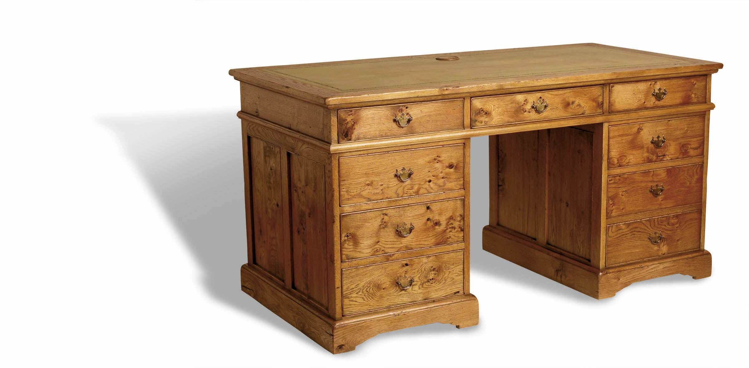 Clifford Pedestal Desk