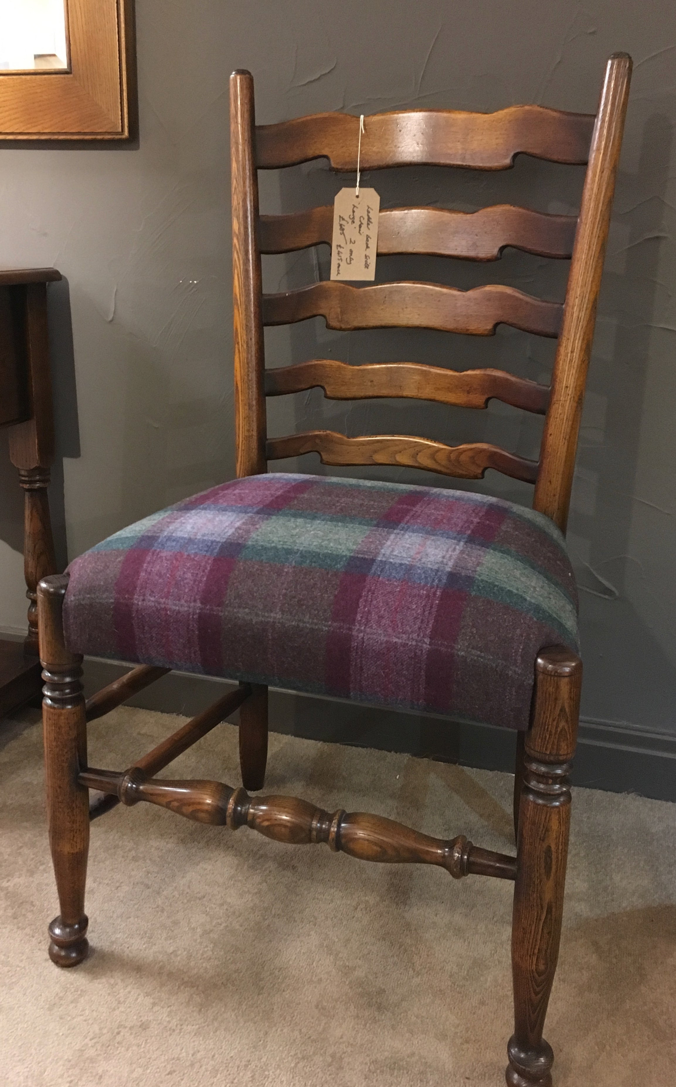Ex-Display Balmoral Large Ladderback Side Chair