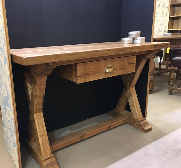 Ex-Display Sawn Oak Side Table