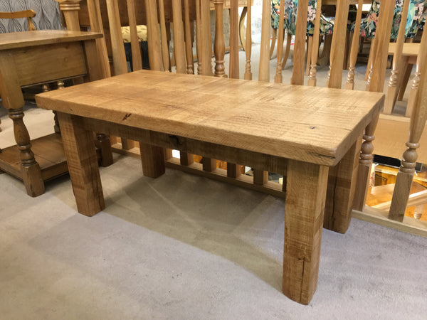 Ex-Display Sawn Oak Occasional Table