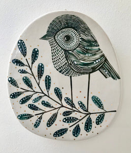 Karen Risby Ceramic Wall Plaque - Large