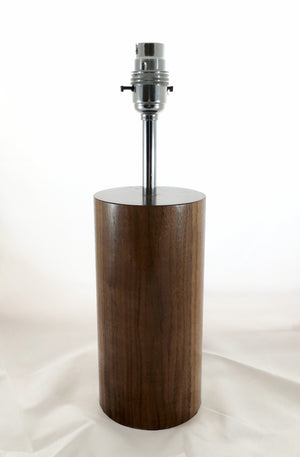 Walnut Lamp Base