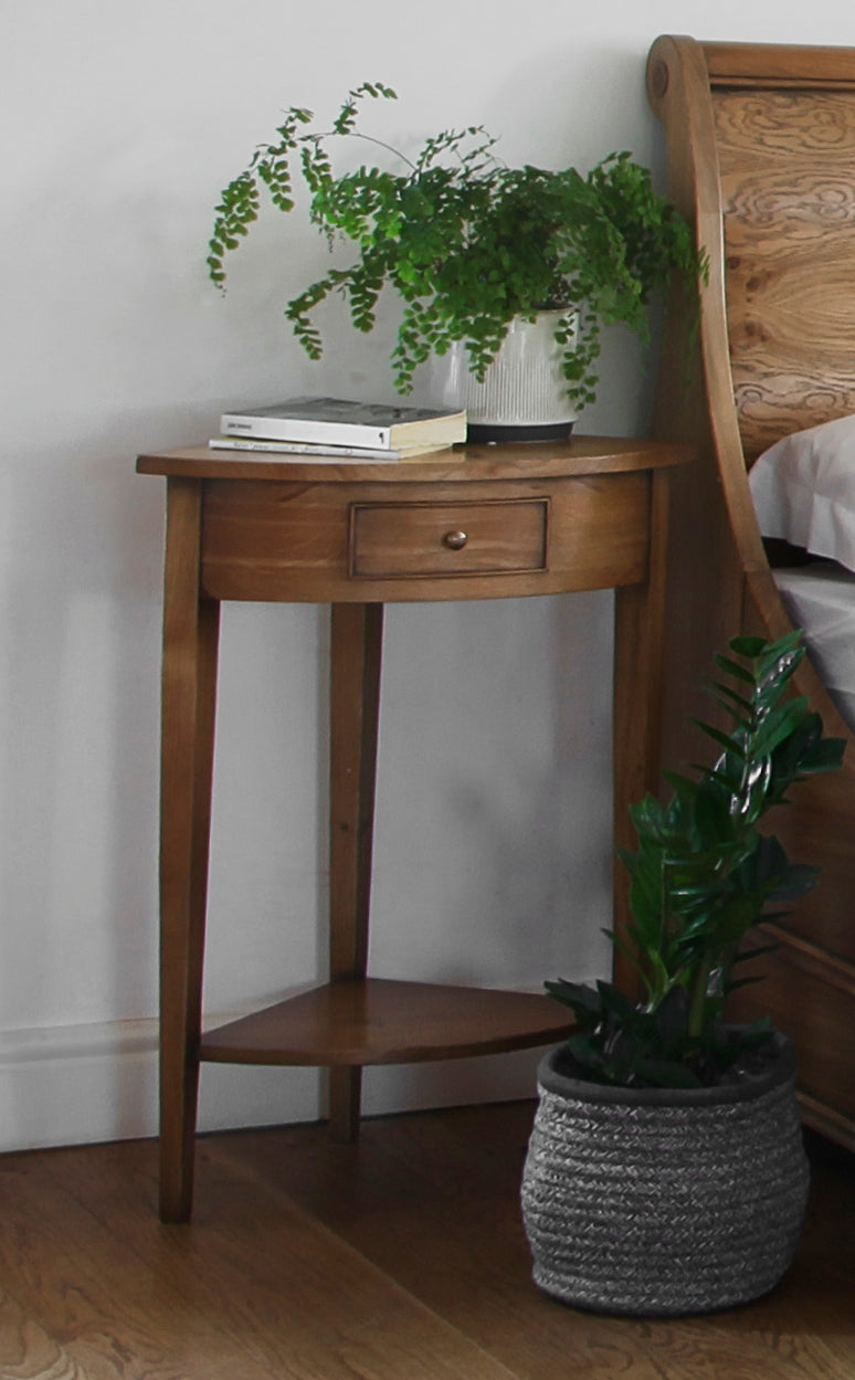 Lyon Corner Lamp Table