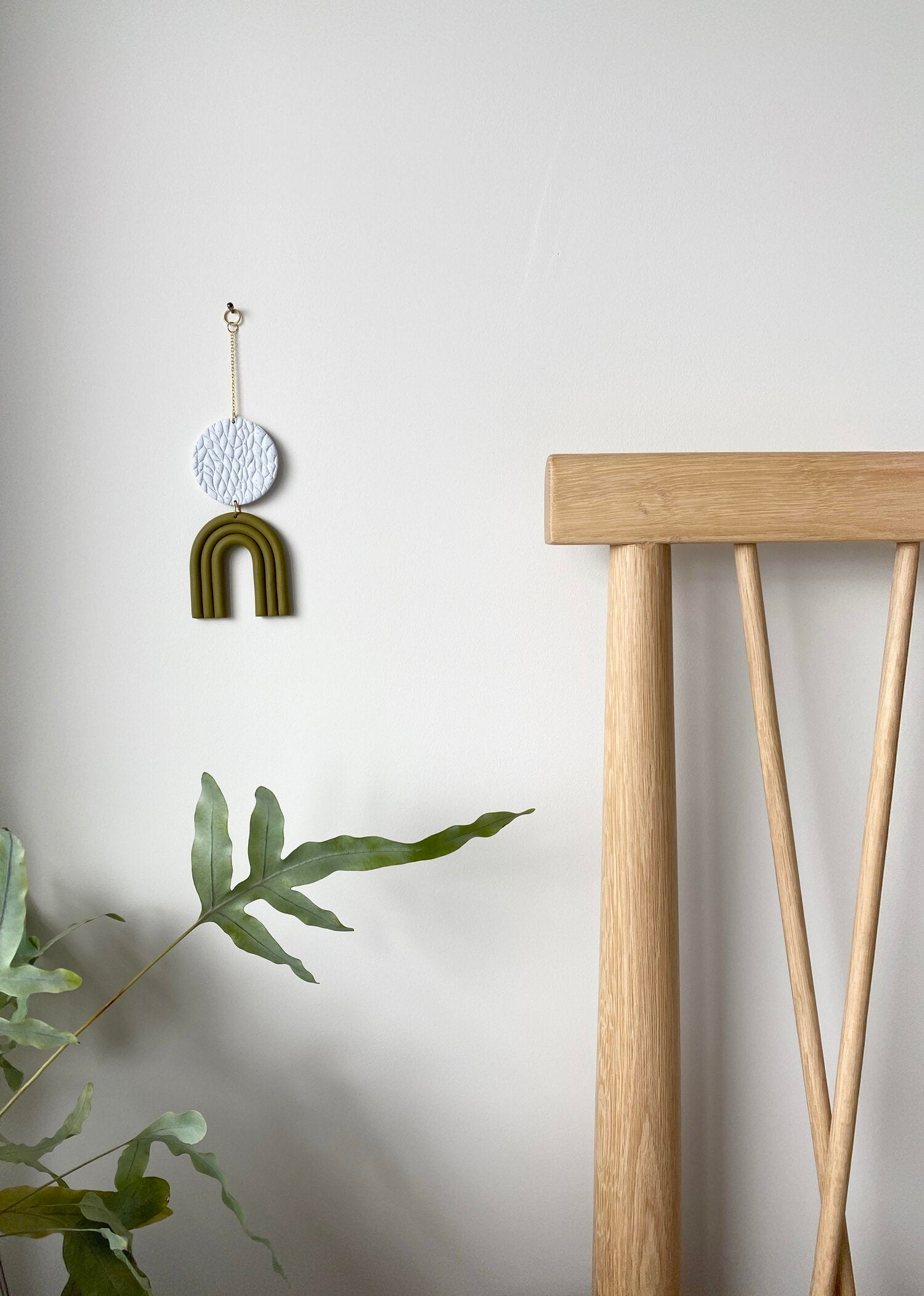 Mini Wall Hanging - Olive
