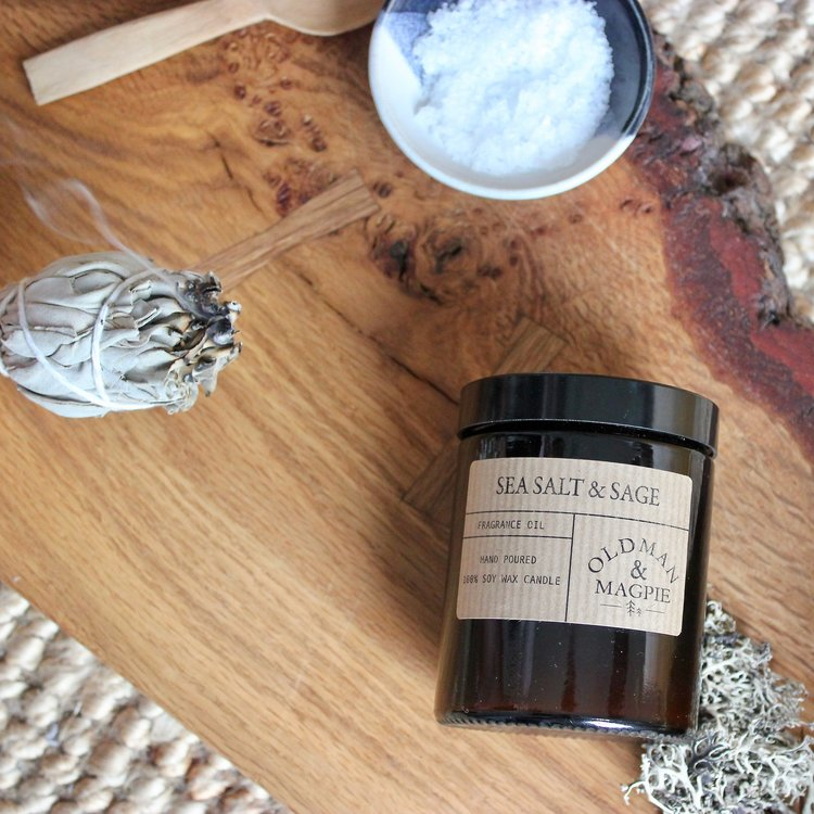 Seasalt and Sage Candle