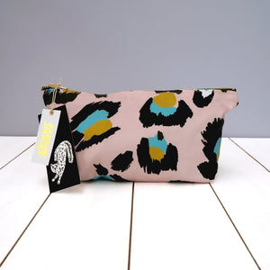 Leopard Print Wash Bag