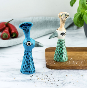 Peacock Salt and Pepper Set