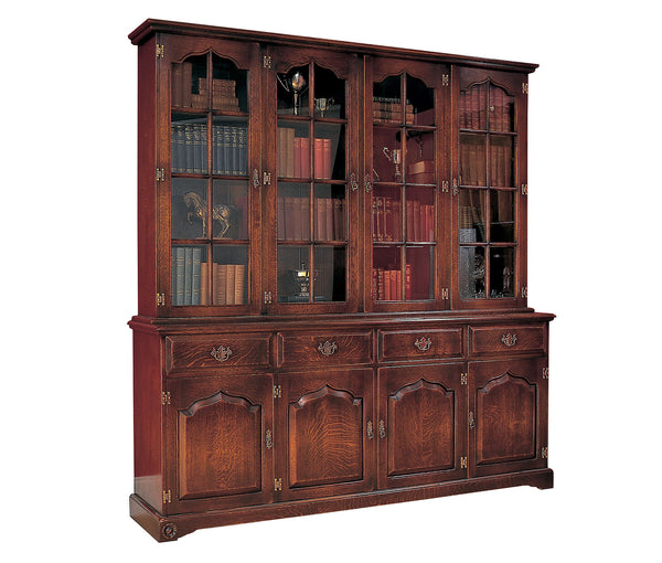 RB508-Library-Bookcase-4-door