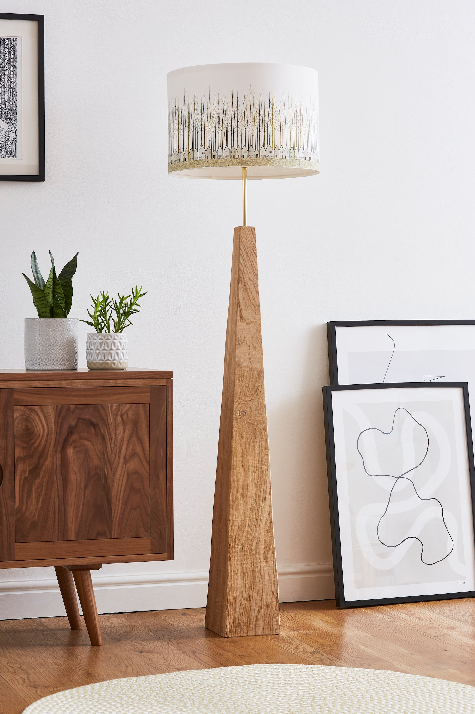 Rustic Standard Lamp Base