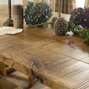 Sawn Oak Dining Table