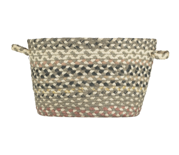 Organic Jute Basket - Granite