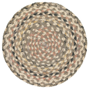 Organic Jute Coasters and Placemats - Granite