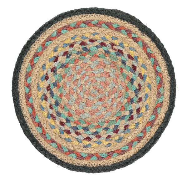 Organic Jute Coasters and Placemats - Kashmir