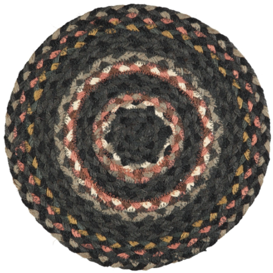 Organic Jute Coasters and Placemats - Marble