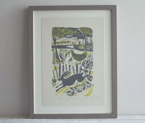 In The Countryside Print