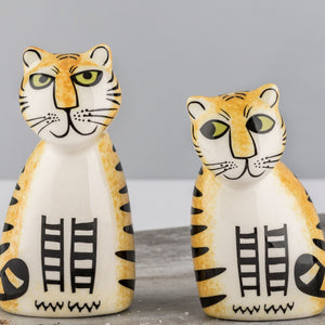 Tiger Salt and Pepper Set
