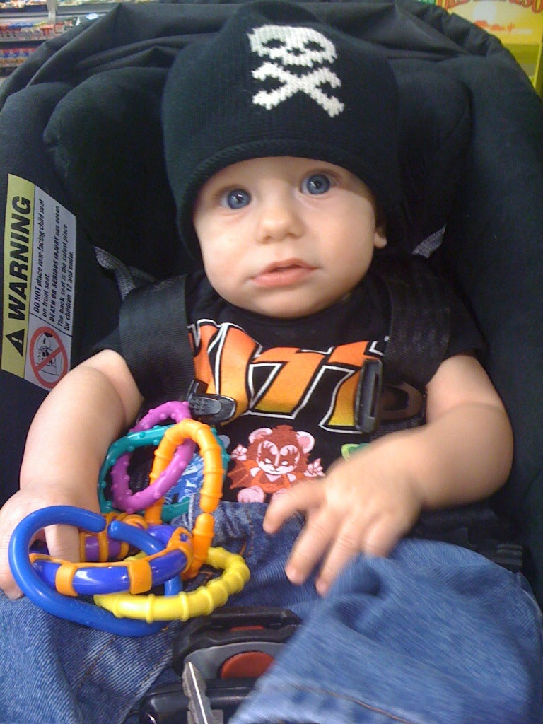 Rock Baby Clothes and Van Halen Lullaby Music CD Available on Kiditude