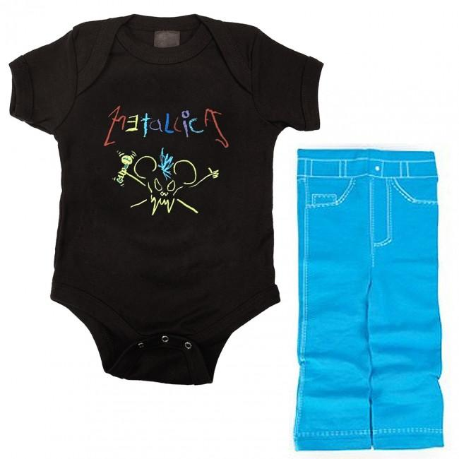 Metallica Baby Clothes