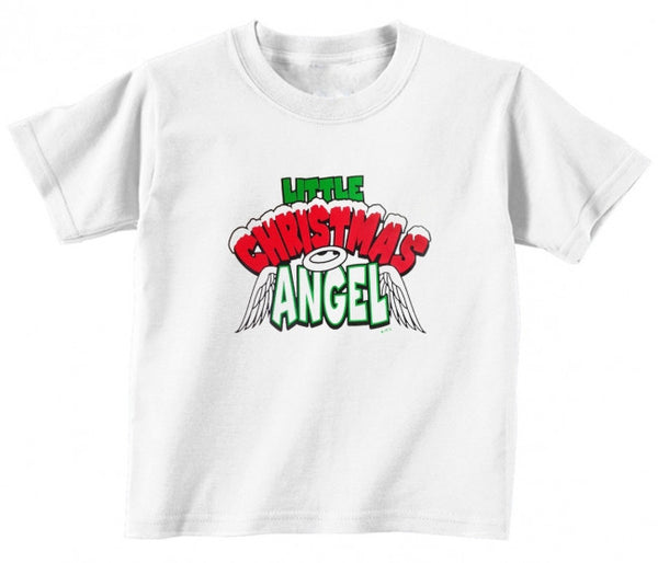 12 To 18 Months Truly Teague Long Sleeve Infant T-Shirt Christmas Cuties Shining Angel Of The Lord Kiwi