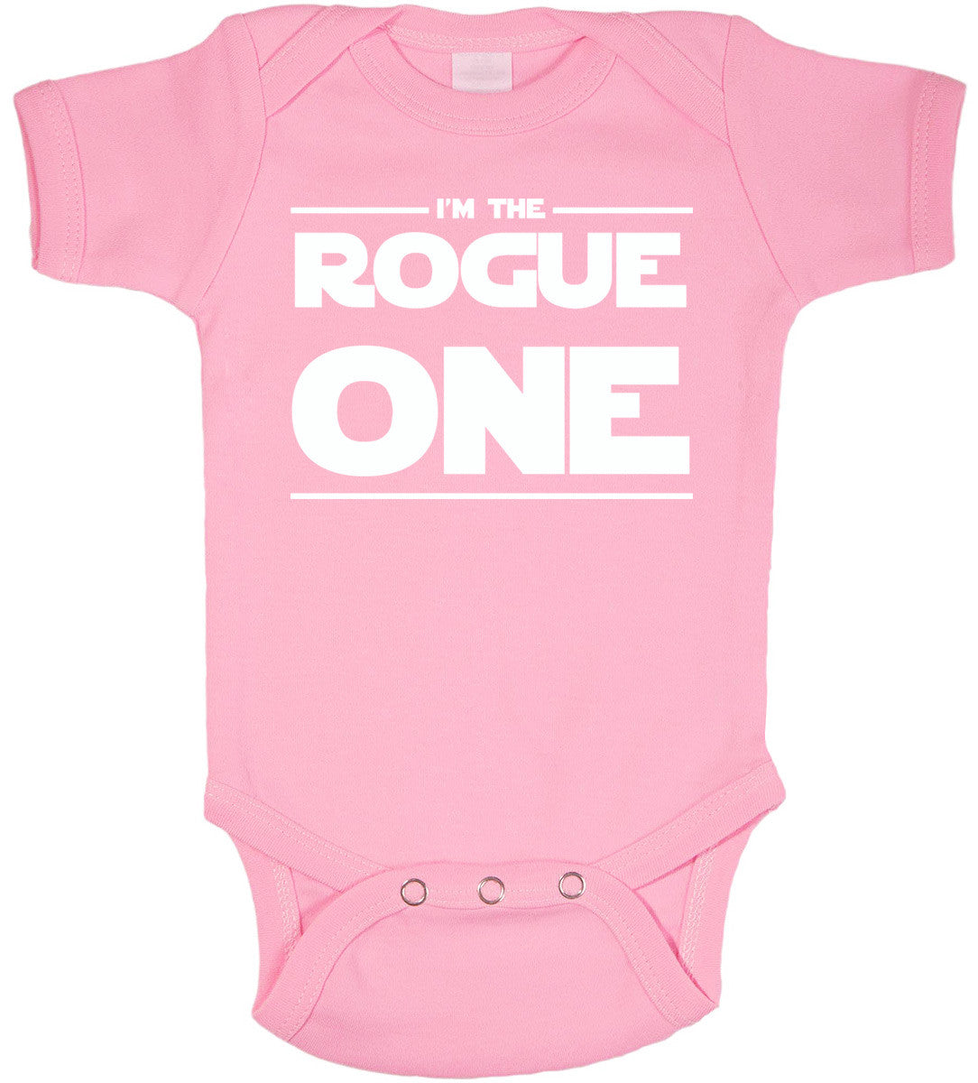 56483595d Rogue One Pink Baby Bodysuit - Kiditude