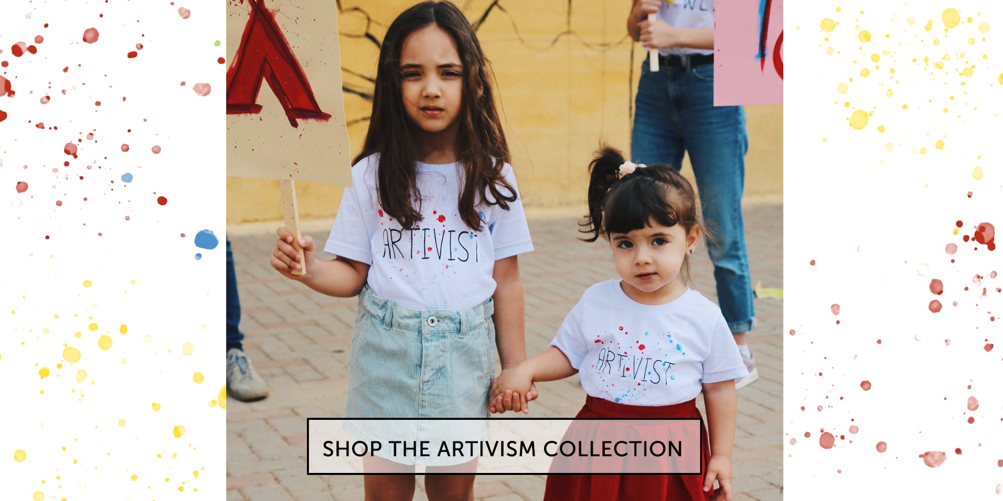 shop tshirt gift kids organic ethical art brand