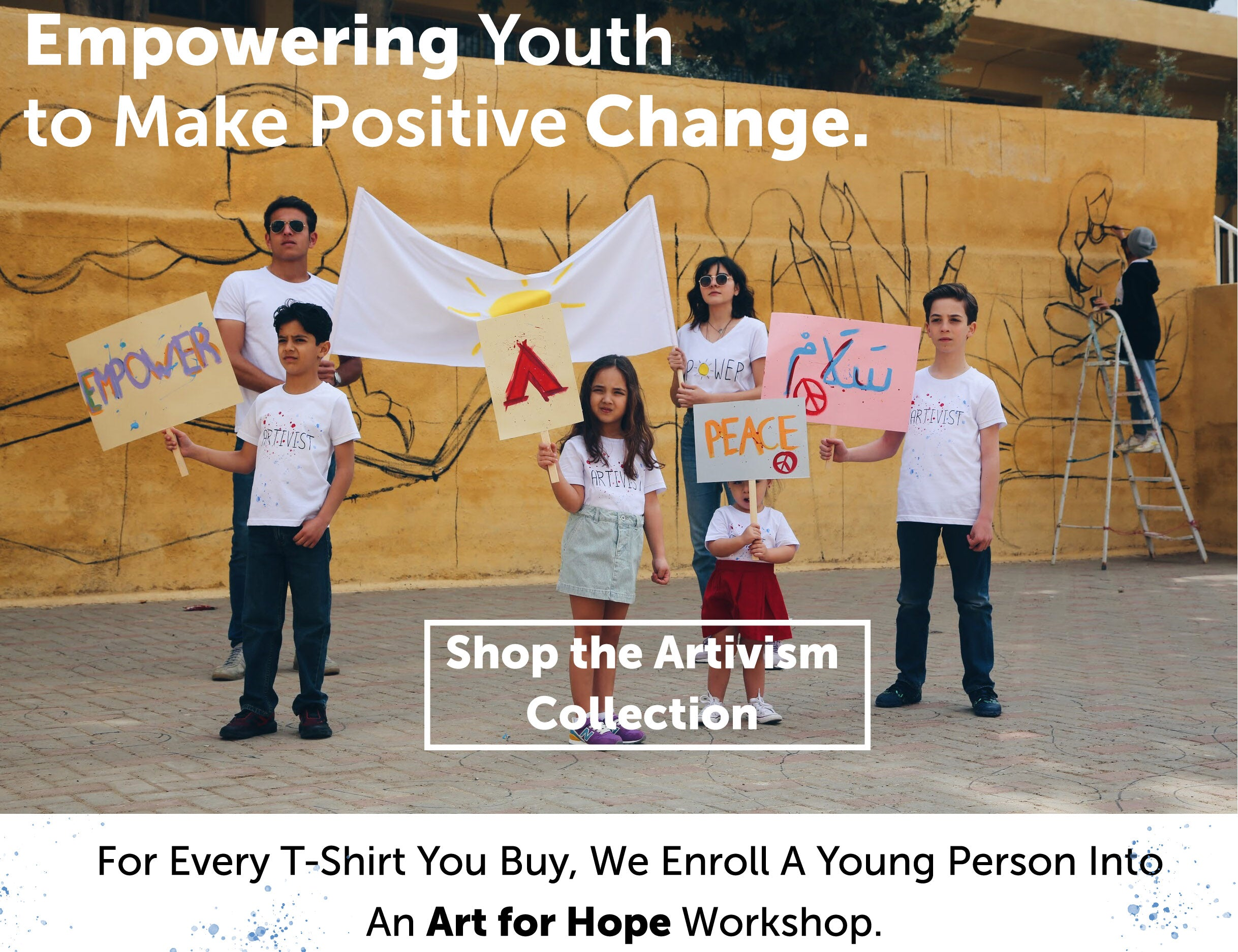 art activist sustainable fashion tshirts social
