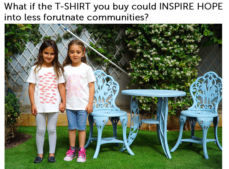 Ethical Sustainable Organic Fashion T-Shirts With Purpose
