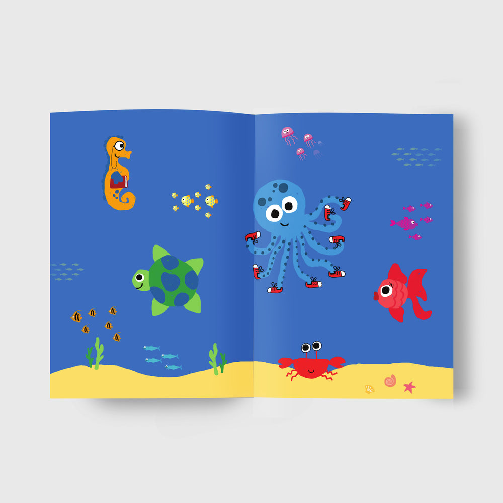 children's book on plastic pollution