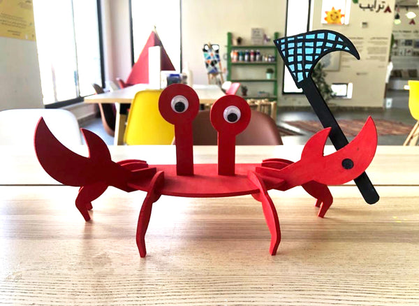 Billy the Crab Arts & Crafts Box
