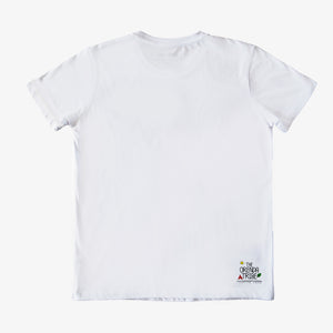 ethical and sustainable organic cotton kids tshirt with a turtle