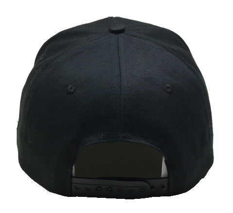 Load image into Gallery viewer, black baseball cap with crab
