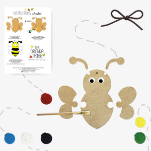 Load image into Gallery viewer, Buzzy The Bumble Bee Craft Box