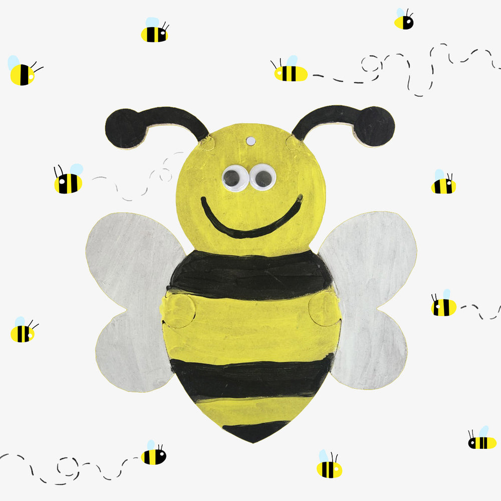 Buzzy The Bumble Bee Craft Box