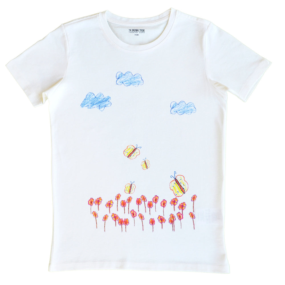 Kids Flutterby Butterfly T-Shirt