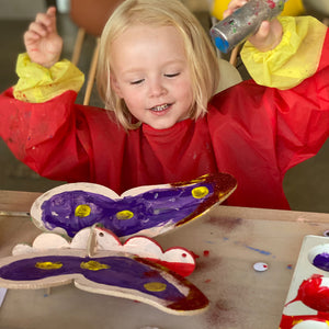 butterfly kids do-it-yourself DIY arts and crafts
