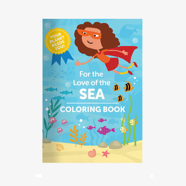 For The Love of The Sea Coloring Book