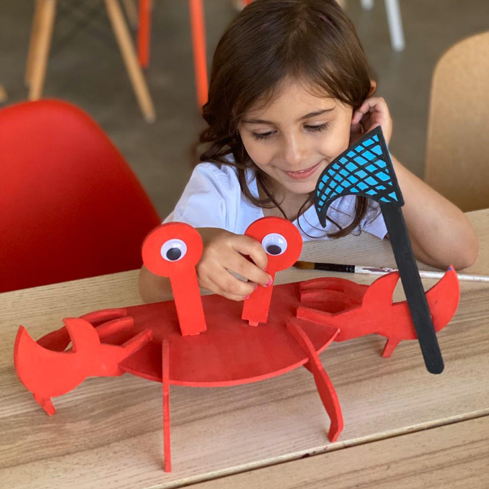 crab kids do-it-yourself (DIY) arts and crafts