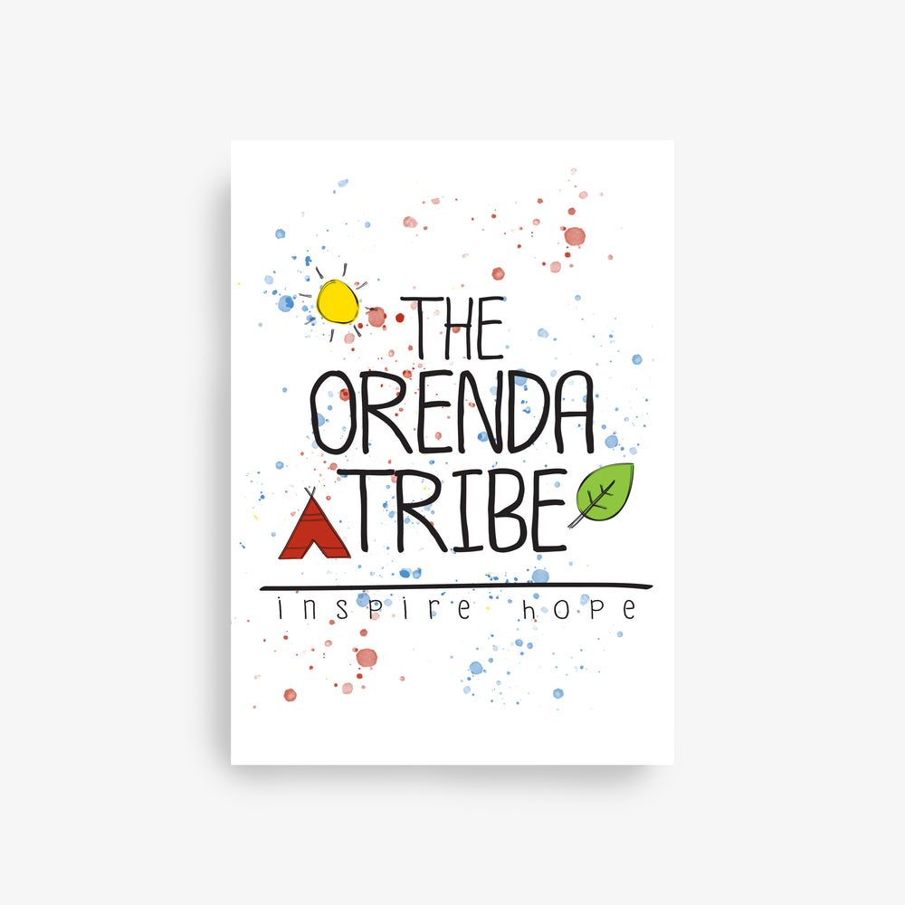 gift card the orenda tribe logo