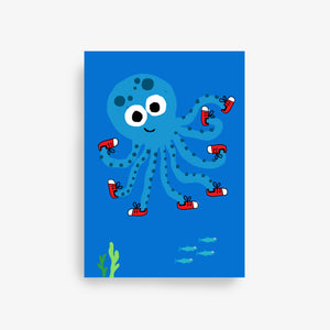 Load image into Gallery viewer, octopus gift card