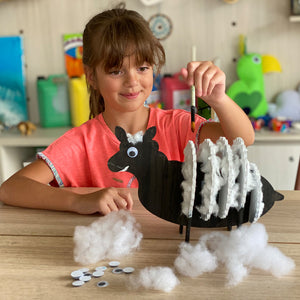 sheep kids do-it-yourself (DIY) arts and crafts